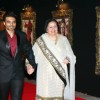Uday Chopra with mother Pamela Chopra at Red Carpet for premier of film Jab Tak Hai Jaan