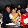 Sai and Shakti  with Sharbani Deodhar at launch of their Production house Thoughtrain Entertainment