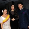 Sai and Shakit with Gauri Bhonsle at launch of their Production house Thoughtrain Entertainment
