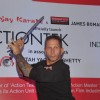 James Bomalik during the launch of India�s largest karate school Actiontek India