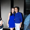 Sanaya Irani with friend at the launch of Production house Thoughtrain Entertainment