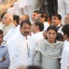Sanjay Dutt with sister Priya Dutt at funeral of Shiv Sena Supreme Balasaheb Thackeray