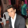 Aamir Khan on the sets of Yeh Rishta Kya Kehlata Hai to promote Talaash