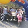 Imran Khan flags off the India�s first RedBull Soapbox Race 2012 in Mumbai