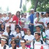 Rakhi Sawant joins to support the cause of HIV/AIDS awreness rally of Dr. Sunita Dube