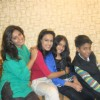 Nia sharma with her family in delhi