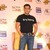 Bollywood actor Salman Khan campaigning charity and Promotion of Dabangg 2 in Hyderabad.