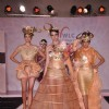 Models walk the ramp at Chimera fashion show of WLC College in Mumbai.