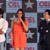 Ritesh Deshmukh, Bipasha Basu at CCL broadcast tie up announcement with Star Network