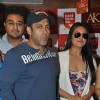 Salman Khan and Sonakshi Sinha at film DABANGG 2 promotions at Cafe Coffee Day