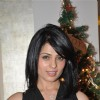 Designer Nisha Jamwal celebrating Christmas party