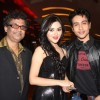 Milind, Ragini and Adhyayan at music launch of film Dehraadun Diary in Cinemax, Andheri West Mumbai.