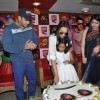 Bollywood actors Salman Khan and Sonakshi Sinha promotions at CCD in Mumbai.