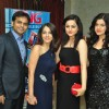 Mihani sisters with Vijay and Dolly Bhatter at the celebration of India Forums 9th Anniversary