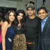 Dolly Das & Vishal Singh with Dolly & Vijay at the celebration of India Forums 9th Anniversary
