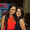 Krystle Dsouza with Dolly Bhatter at the celebration of India Forums 9th Anniversary