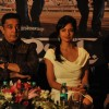 Kamal Haasan and Pooja Kumar at press meet to announce film Vishwaroop premiere