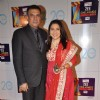 Boman Irani with wife Zenobia at Zee Cine Awards 2013 at YRF Studios in Andheri, Mumbai.