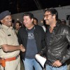 Ajay Devgan with Sajid Khan at Police Show Umang 2013