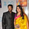 Kabir Khan with wife Mini Mathur at Zee Cine Awards 2013
