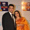 Vidya Balan with husband Siddharth Roy Kapur at Zee Cine Awards 2013