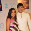 Vivek Oberoi with wife Pallavi at Zee Cine Awards 2013