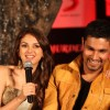 Randeep Hooda and Aditi Rao Hydari at the film Murder 3 first look launch in The Club, Andheri, Mumbai.