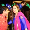 Indresh Malik and Munisha Khatwani at Vivian Dsena and Vahbbiz Dorabjee Wedding