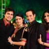 Sunaina Singh, Harmeet Singh & Kishwer Merchantt at Vivian Dsena and Vahbbiz Wedding