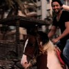 Shaheer while Horse riding