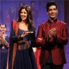 (L to R) Bollywood actress Shilpa Shetty with fashion designer Manish Malhotra at the inauguration of the 56th All India Congress of Obstetrics and Gynecology (AICOG) fashion show by Manish Malhotra in Mumbai.