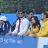 Vivek Oberoi,Gulshan Grover, Sharman Joshi and Tina Ambani at the Standard Chartered Mumbai Marathon