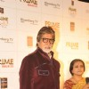 Amitabh Bachchan felicitated as winner of India's Prime Icon by BIG CBS PRIME at Hotel Novotel in Juhu, Mumbai