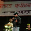 Music Duo Sajid Wajid performing at the Malad Sports Festival Closing Ceremony in Mumbai