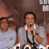 Govinda at the press meet of Deewana Main Deewana