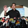 Bollywood actor Kamal Haasan addressing the media about the release of his film Viswaroopam in Chennai, 30 Jan 2013.