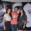 Bollywood actors Aditi Rao Hydari, Randeep Hooda and Sara Loren at the press conference of upcoming film Murder 3 in Mehboob, Mumbai on Wednesday, January 30th, evening.