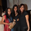(L to R) Suchitra Pillai, Anushka Manchanda and Manasi Scott at the Jade Jagger's latest collaboration with Kerastase to design the bottle for Kerastase's Elixir Ultime a unique luxury brand in Mumbai on Wednesday, January 30th, evening.