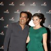 Vindu Dara Singh with his beautiful wife Dina Umarova at the 4th anniversary party of COLORS Channel