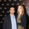 Adnan Sami with wife Roya Faryabi at the 4th anniversary party of COLORS Channel