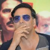 Bollywood actor Akshay Kumar at the promotional event of the film Special 26 in Hyderabad on Feb 4.