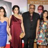 Bollywood actresses Sridevi with family at the Hindustan times Most Stylish Awards 2013 in Hotel ITC Grand Central, Parel, Mumbai on Thursday, February 6th, evening.