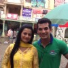 Arjun Bijlani with Co-Actor Neha Janpadit