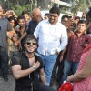 Vivek Oberoi and Neha Sharma promotes Jayantabhai Ki Luv Story on Valentine day