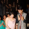 Nandish Sandhu and Rashmi Desai cuttin cake at their Anniversary and Birthday Party