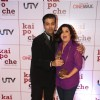 Karan Johar with Farah Khan at Film Kai Po Che Premiere
