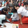 Salman Khan at Rouble Nagi art camp
