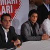 Rahul Dravid and Shahrukh Khan at UCC Opening Ceremony in Mumbai