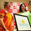 Annabel Mehta, Board member of NGO Apnalaya with her daughter Anjali Tendulkar during the 40th anniversary celebration of NGO Apnalaya in Mumbai.