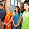 Mrinmoy Mukherjee, Annabel Mehta, Dhun Davar and Anjali Tendulkar during the 40th anniversary celebration of NGO Apnalaya in Mumbai.
